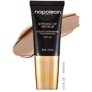 NAPOLEON PERDIS STROKE OF GENIUS LIQUID CASHMERE FOUNDATION - Look 2B
