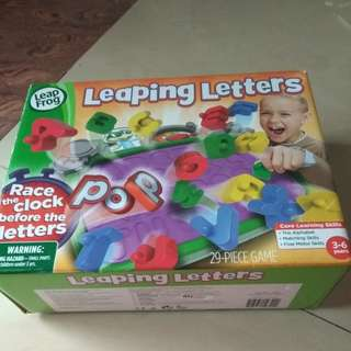 Leaping letters