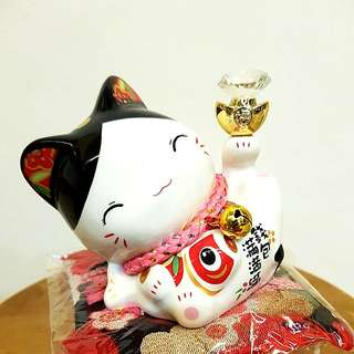 Fortune Cat With Diamond