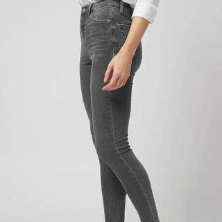 BNWT Topshop inspired Grey Jamie Jeans