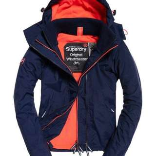 EZTREND現貨:女裝SUPERDRY WINDCHEATER SIZE S