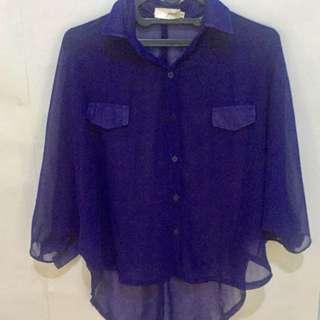 GAUDI Navy Shirt