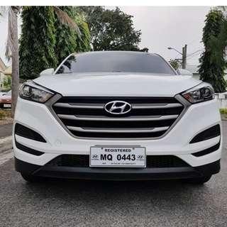 Hyundai Tucson 2016 M/T Gas 14,000 km Mileage