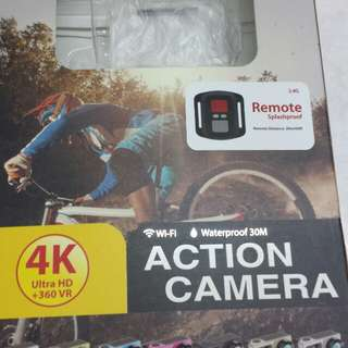 Action Camera warna pink tiptop