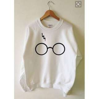 Harry Potter Sweater : White