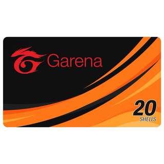 20 GARENA SHELLS (E-Pin)