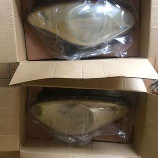 Myvi 2006 front lamp and fog lamp