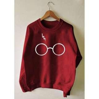 Harry Potter Sweater : Maroon