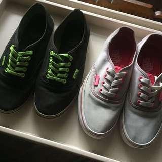 Authentic Vans sneakers
