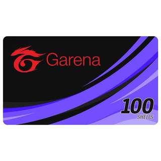 100 GARENA SHELLS (E-Pin)