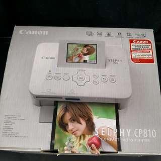 Canon selphy CP810 photo printer 手機usb /mmc sd卡 自家曬相機