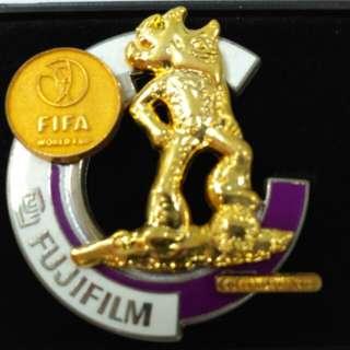 Fifa world cup fujifilm pin badge