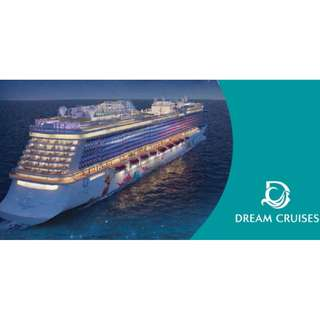 CNY Dream Cruise Promotion : 3 Nights Cruise To Phuket & Penang . Includes : 3 Nights Stay At Balcony Stateroom + On Board Entertainment & Meals. Min 2 Pax. Terms & Conditions Apply. Limtied Cabins