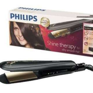 Philips kera shine HP 8316 / Hair straightener / ceramic keratin ion ( catokan rambut)