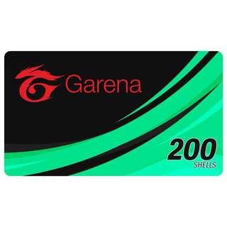 200 GARENA SHELLS (E-Pin)