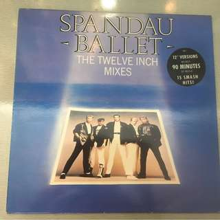 Spandau Ballet ‎– The Twelve Inch Mixes, 2x Vinyl LP, Chrysalis ‎– SBD 1, 1986, UK