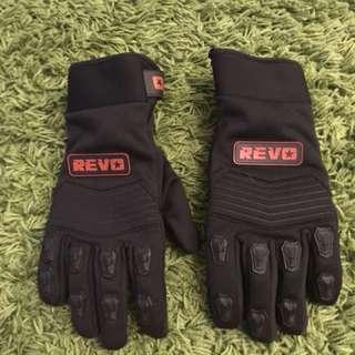 Revo Waterproof Motorcycle Gloves (Used)