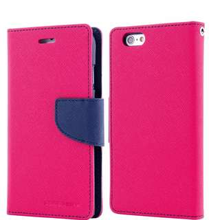 MERCURY Folio Flip Case Wallet Cover For iPhone 6/6s
