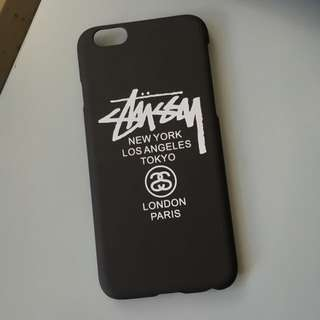 Stussy black iPhone 6/6s Case