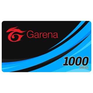 1000 GARENA SHELLS (E-Pin)