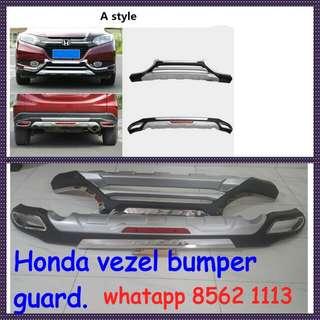 Honda vezel Bumper guard