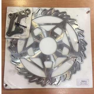 Gilera Runner VXR (2005) Brake Disc, Front, Oversize