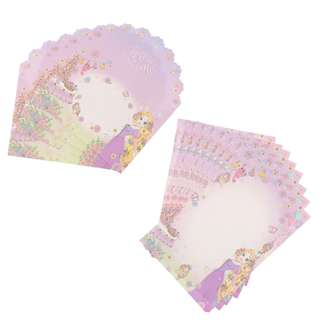 Japan Disneystore Disney Store Rapunzel Tangled Princess Party Letter Set