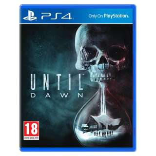 (Brand New Sealed) PS4 Game Until Dawn.