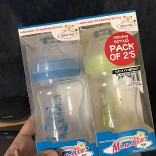Mimiflo feeding bottles