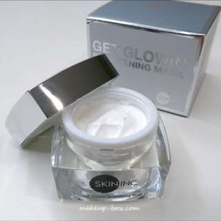 skin inc get glowin brightening mask 50ml