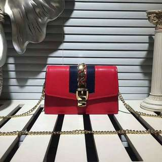 Gucci Sylvie Mini Chain Bag - FREE International Shipping