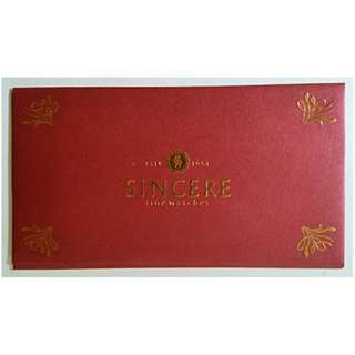 Ang Pao Sincere Watch Red Packet
