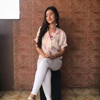 Kimono pastel top