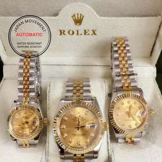 ROLEX (HIGH END QUALITY) for men and women