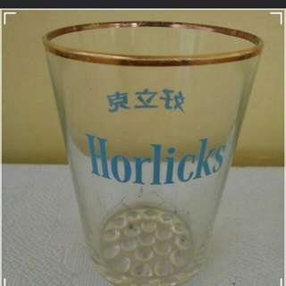 Horlicks vintage glass