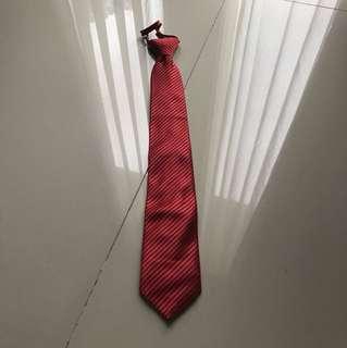 Dasi merah saint lucas