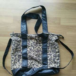 Cotton On Rubi Leopard Printed Tote Bag #20under