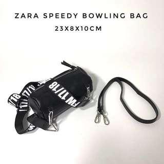 Original Zara Speedy Bowling Bag with Strap
