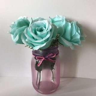Vday gift-Stripes designed jar