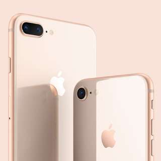 iPhone 8 Gold 64GB, 99% New / with Box and Cable 100% New