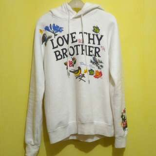 Dsquared2 Pullover Hoodie Love Thy Brother Original