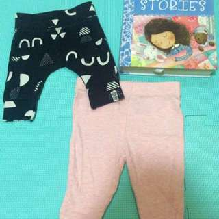 Cotton On Baby Leggings Set of Two