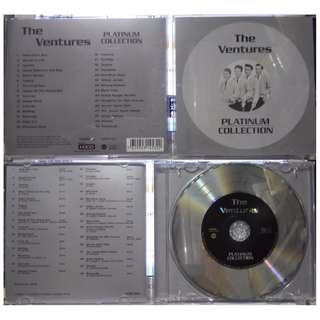 The ventures platinum collection cd