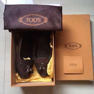 Tods Ballerina Flats Shoes