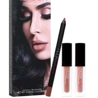Huda Beauty HUDA BEAUTY Lip Contour Set Trendsetter & Bombshell