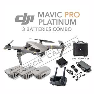NEW DJI Mavic Pro Platinum 3 Batteries Combo READY STOCK