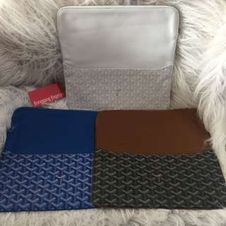 Goyard Envelope Clutch