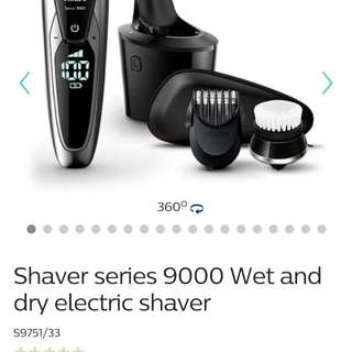 BNIB Philips Top-End Wet & Dry Shaver