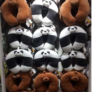 We Bare Bears Neck Pillow