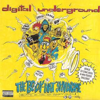 """Digital Underground The """"Body-Hat"""" Syndrome cd"""
